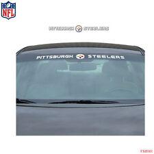 Brand New NFL Pittsburgh Steelers Car Truck SUV Windshield Window decal Sticker