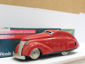 Schuco 1010 Wende-Limousine rot OVP (S429)