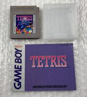 Tetris — Nintendo Gameboy(1989) Cart & Manual Only, Tested/Working