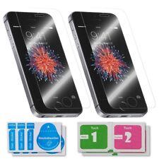 2x Apple iPhone 5 / 5S Schutzglas 9H Panzerfolie Panzerglasfolie Schutzfolie