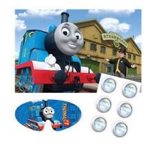 Artículos de fiesta color principal azul cumpleaños infantil de Thomas y sus amigos