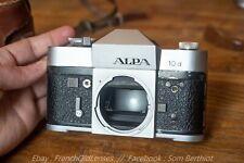 Alpa 10D Silver [Leica, Rectaflex, Kern]