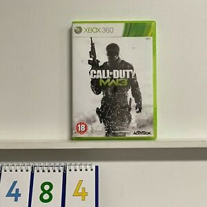 Call of duty mw3 COD xbox 360 game + manual PAL oz484