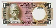Sierra Leone  1 leone   1984 FDS  UNC   pick 18 lotto 117