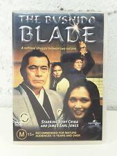 Bushido Blade DVD_SONNY CHIBA_Samurai_1981 James Earl Jones_RARE OOP - REG 4