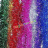 2M (6.5Ft) Luxury Chunky Tinsel Chrismas Tree Decoration Xmas Garland 7 Colour