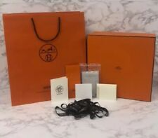 BRAND NEW Authentic Hermes Purse Storage Box Gift Set + Extras 13.5 x 13.5 x 5.5