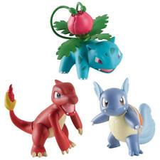 TOMY Pokemon 3 Set Figure Pack IVYSAUR CHARMELEON WARTORTLE T18839 Free Shipping