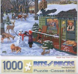 Joseph Burgess Jigsaw Puzzle Maple Sap Time Of Year  Missing1 Piece