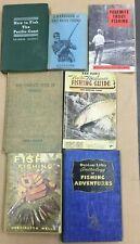 Early Fishing Books, Fresh & Salt Water