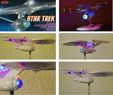 Lighting Set Enterprise 1701 1:1000 refit Star Trek AMT POLAR LIGHTS KIT