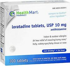 HM Loratadine 10mg 24hr Allergy Relief 300 tablets
