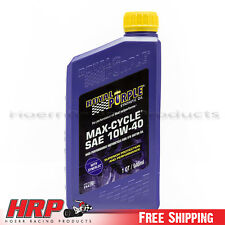 Royal Purple 01315 10W-40 Max Cycle Synthetic Oil - 1 Quart