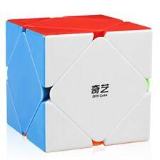 Qiyi QiCheng Skewb Speed Cube Stickerless Magic Cube Puzzle Twist Toys for Kids