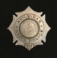 "Obsolete 1940s 50s Arkansas State Police 2.5"" in size"