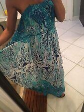 NEW Boston Proper Maxi Dress 2 $250 Stunning Boho Grecian Waterfall