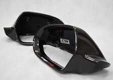 Audi A6 Carbon Fibre Fiber Replacement Mirrors A6 S6 RS6 C7 Without lane Assist
