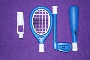 NINTENDO ACCESSORIES FOR WII WII SPORTS BUNDLE ZAPPERS GUNS ROD AND REEL SETS