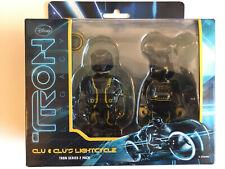Medicom Kubrick Be@rbrick Disney TRON Legacy Two-Pack Clu & Lightcycle Bearbrick