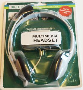 Digitus Headset DA-10201 Kopfbügel Tragevariante binaural Anschluss 3.5mm