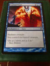Control Magic Commander 2013 MTG Misprint Color Error Extra Magenta