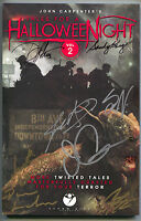 Tales Of A Halloween Night 2 GN 2016 NM 9.8 Signed John Carpenter Steve Niles 8x