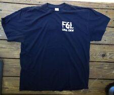 Rare Fgl Florida Georgia Line Local Crew Concert Country Music T-Shirt Size Xl