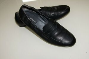 Paul Green Damen Schuhe Sneaker 39 Leder Halbschuhe Ballerinas Slipper schwarz
