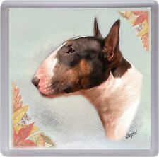 Bull Terrier Dog Coaster No 2 by Starprint