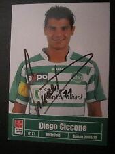 4310 Diego Ciccone FC St Gallen original signierte Autogrammkarte Ausland