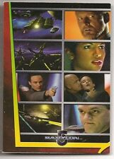 Complete Babylon 5 Trading Cards Movies Chase Card M10