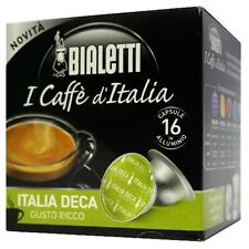 16 Capsule in alluminio Bialetti Mokespresso ITALIA DEKA - Mokona Tazzona