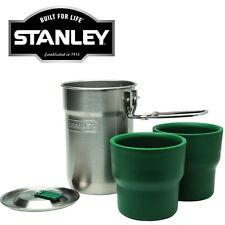 Nuevo 0.71 L Conjunto de Cocina Campamento Stanley Tazas Frasco Vacío Termo de Acero Inoxidable Nuevo