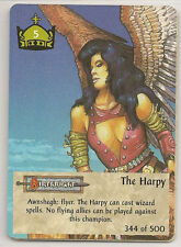 Spellfire 4th Edition Card M/NM 344/500 The Harpy