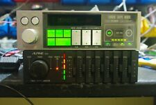 Oldtimer auto  ALPINE 5312 kassettenspieler & ALPINE 3214 Equalizer/ Verstärker