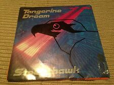 "TANGERINE DREAM SPANISH 7"" SINGLE SPAIN PROMO  85 STREETHAWK SYNTH ELECTRONIC"