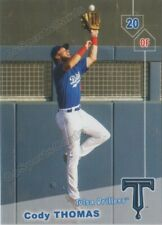 2019 Tulsa Drillers Cody Thomas RC Rookie Los Angeles Dodgers