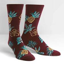 Hawaiian Aloha on Men's Crew Socks by Sock It To Me