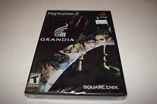 Grandia III Sony Playstation 2 PS2 Video Game New Sealed
