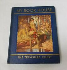 My Book House The Treasure Chest: 1937 Edition, Volume 9, HC Book FREE SHIPPING