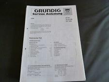 ORIGINALI service manual Grundig CF 30 CF 30gb CF 7200