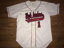 Wilson Radford Highlanders Baseball #1 Button Up Game Worn Jersey Size 46