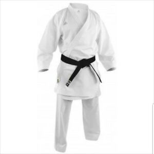 Adidas Size 170cm White Adi-Zero Kumite Climacool WKF Approved Karate Uniform