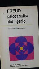 Freud:: Psicanalisi del genio. Newton Compton 1969