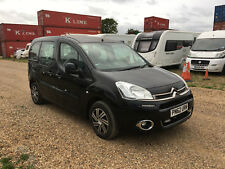 2012 CITROEN BERLINGO MULTISPACE DIESEL BLACK cat d SALVAGE DAMAGED REPAIR MPV