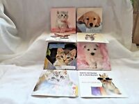 PACK OF 8 ASSORTED CAT AND DOG  ADULT / CHILDREN BIRTHDAY CARDS WITH ENVELOPES