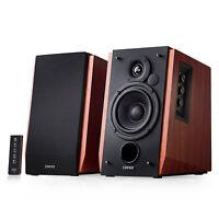 Edifier R1700BT Bluetooth Bookshelf Speakers - Powered 2.0 Active Wood Speaker