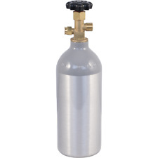 2.5 lb CO2 Tank Aluminum Air Cylinder Draft Beer Kegerator Welding Homebrew