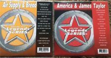 2 CDG LEGENDS KARAOKE DISCS AMERICA,JAMES TAYLOR,AIR SUPPLY,BREAD 1970S POP