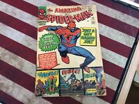 Amazing Spider-Man 1st Series #38 1966 Last Ditko Issue See Pics!